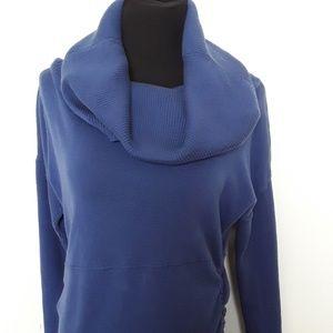 Athleta blue sweater dress